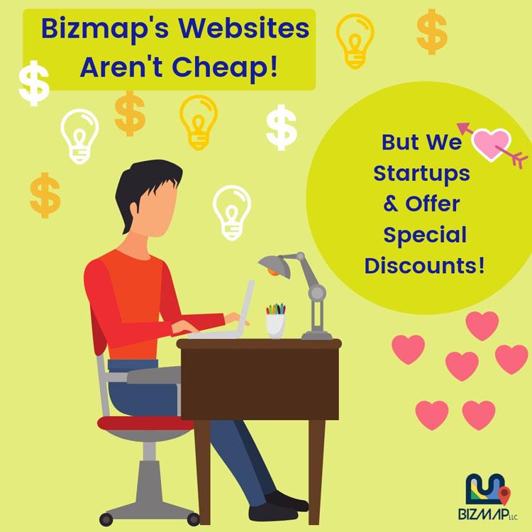 Bizmap's web design services