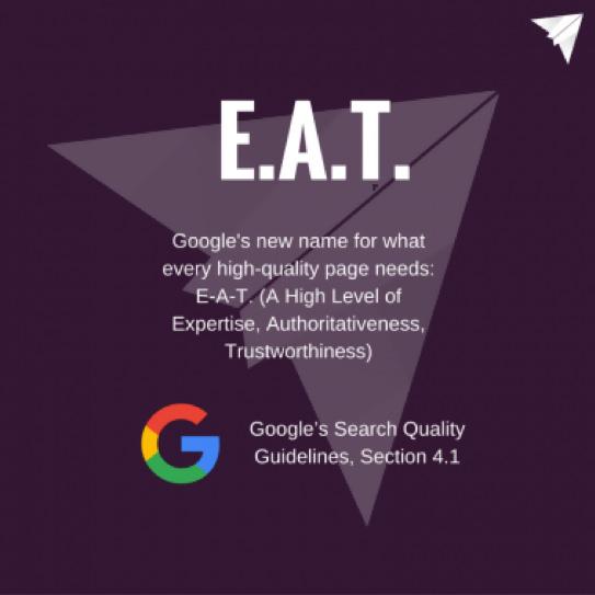 Google- E.A.T.