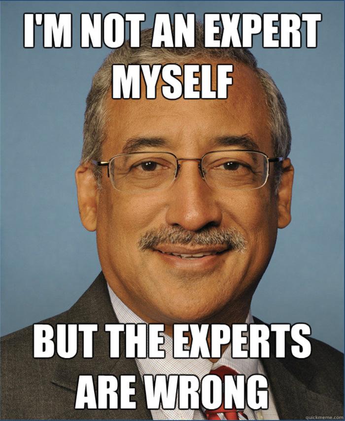 meme- not an expert