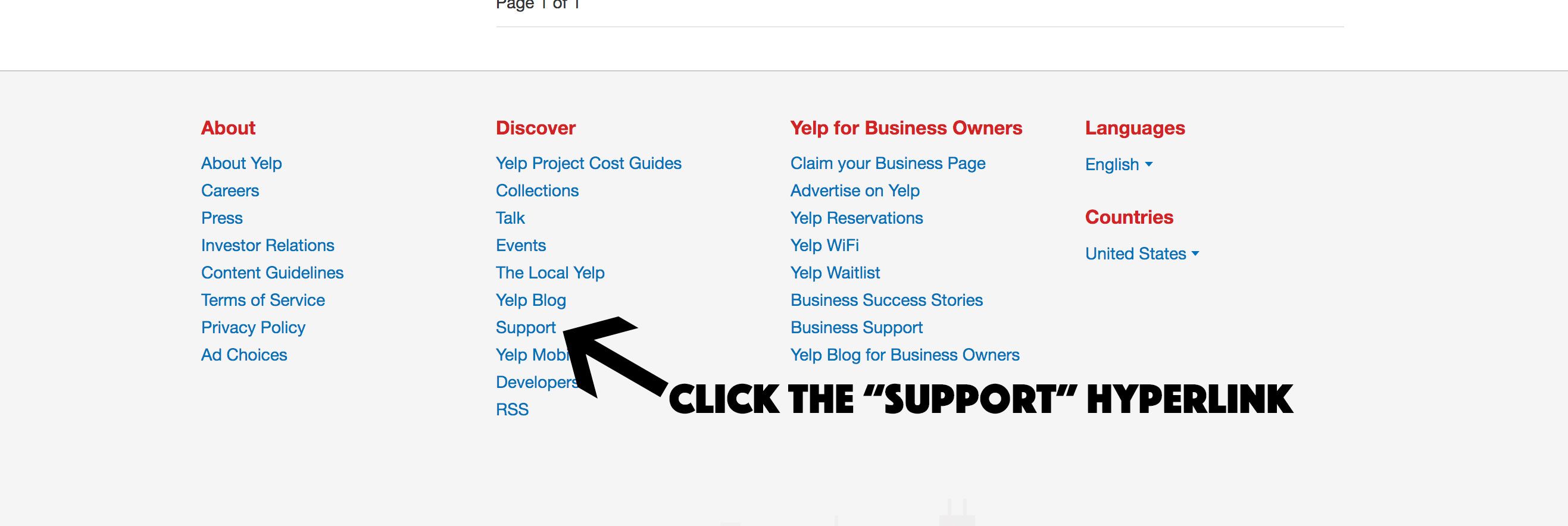 Yelp-support-hyperlink-screenshot