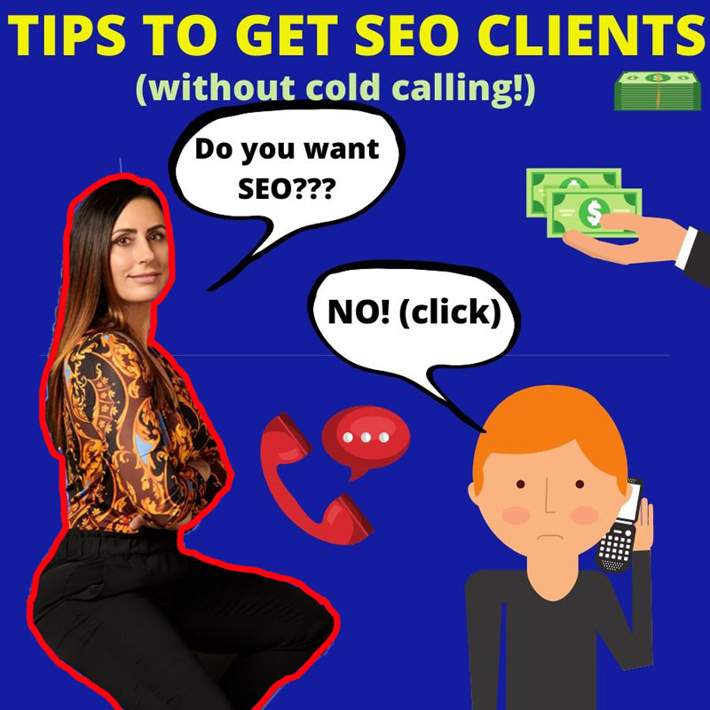 tips to get SEO clients without cold calling