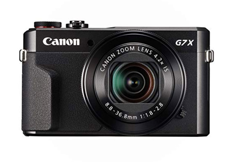 Canon PowerShot G7 X Mark II Vlogging Camera