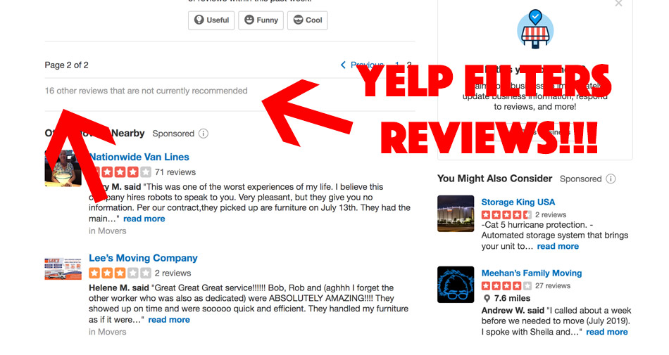 how to beat the yelp algorithm