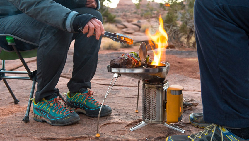Screenshot of BioLite CampStove From Amazon