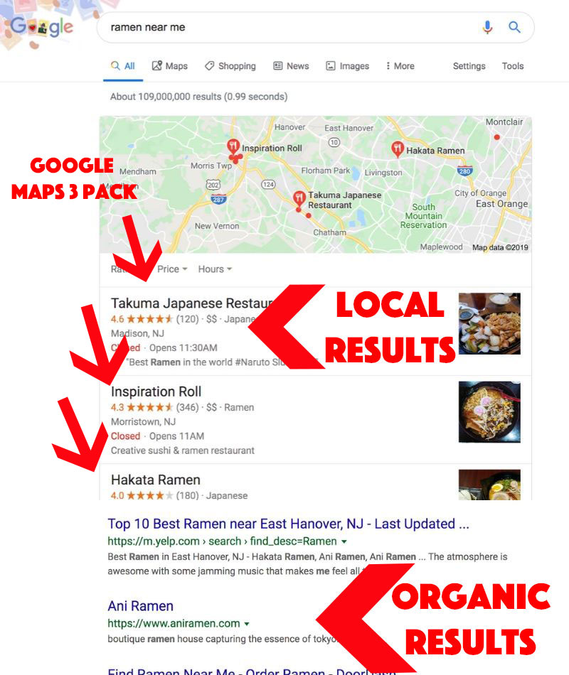 NJ local SEO