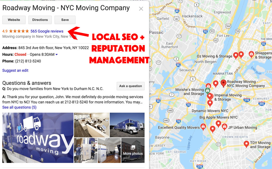 local seo and reputation management