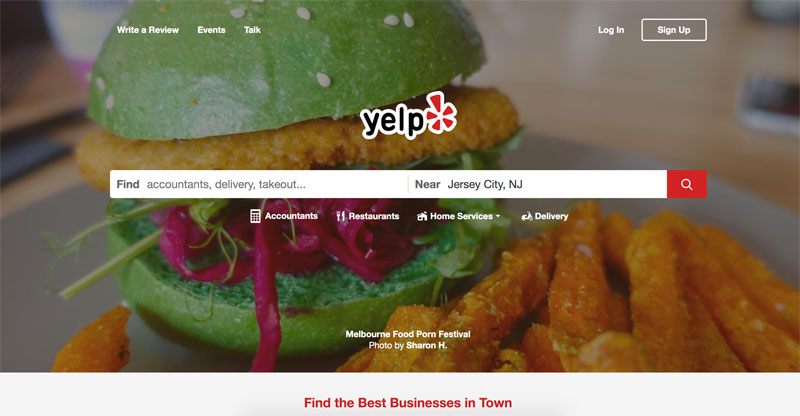 yelp to increase website traffic