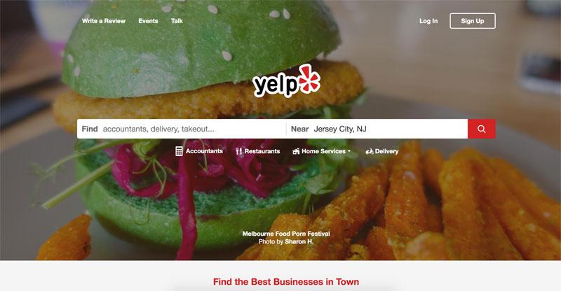 yelp to increase website traffic