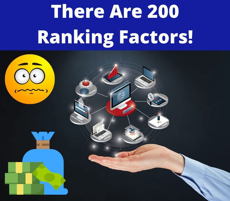 200 ranking factors Google