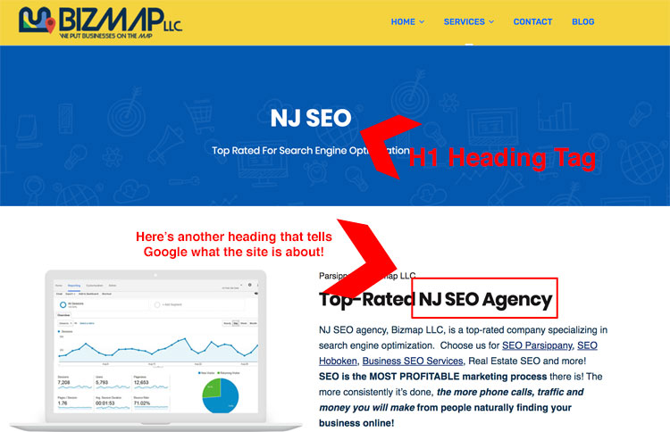 on page SEO new jersey