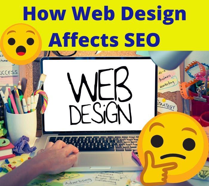 how web design affects SEO
