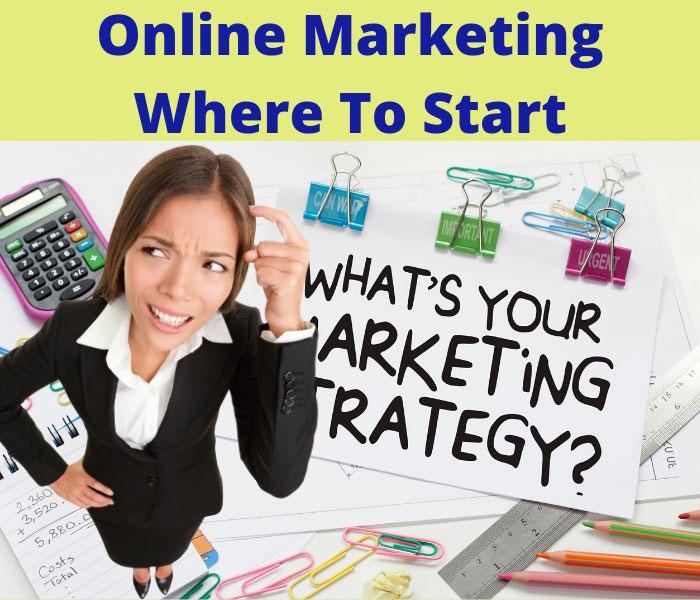 online marketing where to start