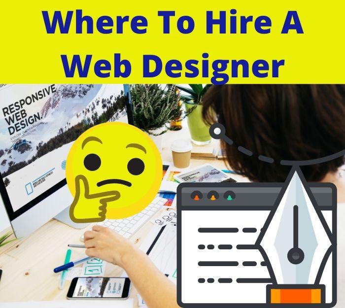 where to hire a web designer