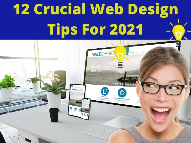 web design tips for 2021